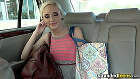 StrandedTeens - Naomi Woods - Teen Spinner's Phone Sex Gets Crazy