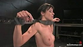 Bound girl on sybian sweating out multiple orgasms Porno Movies