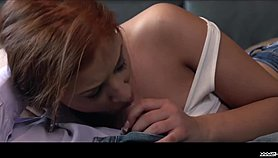 XXX Shades - Passionate sex session leaves Romanian redhead satisfied and cum covered Xnxx.com